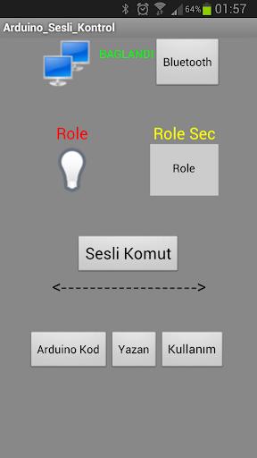 Arduino Bluetooth VoiceControl