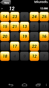 Touch the Numbers for Android - screenshot thumbnail