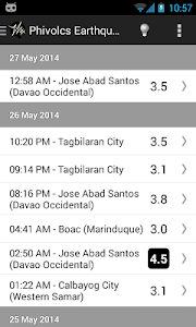 PH Weather And Earthquakes screenshot 0