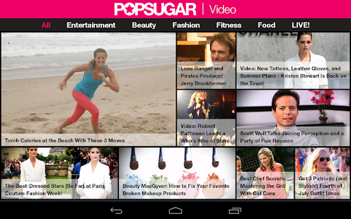 POPSUGAR Video - screenshot thumbnail