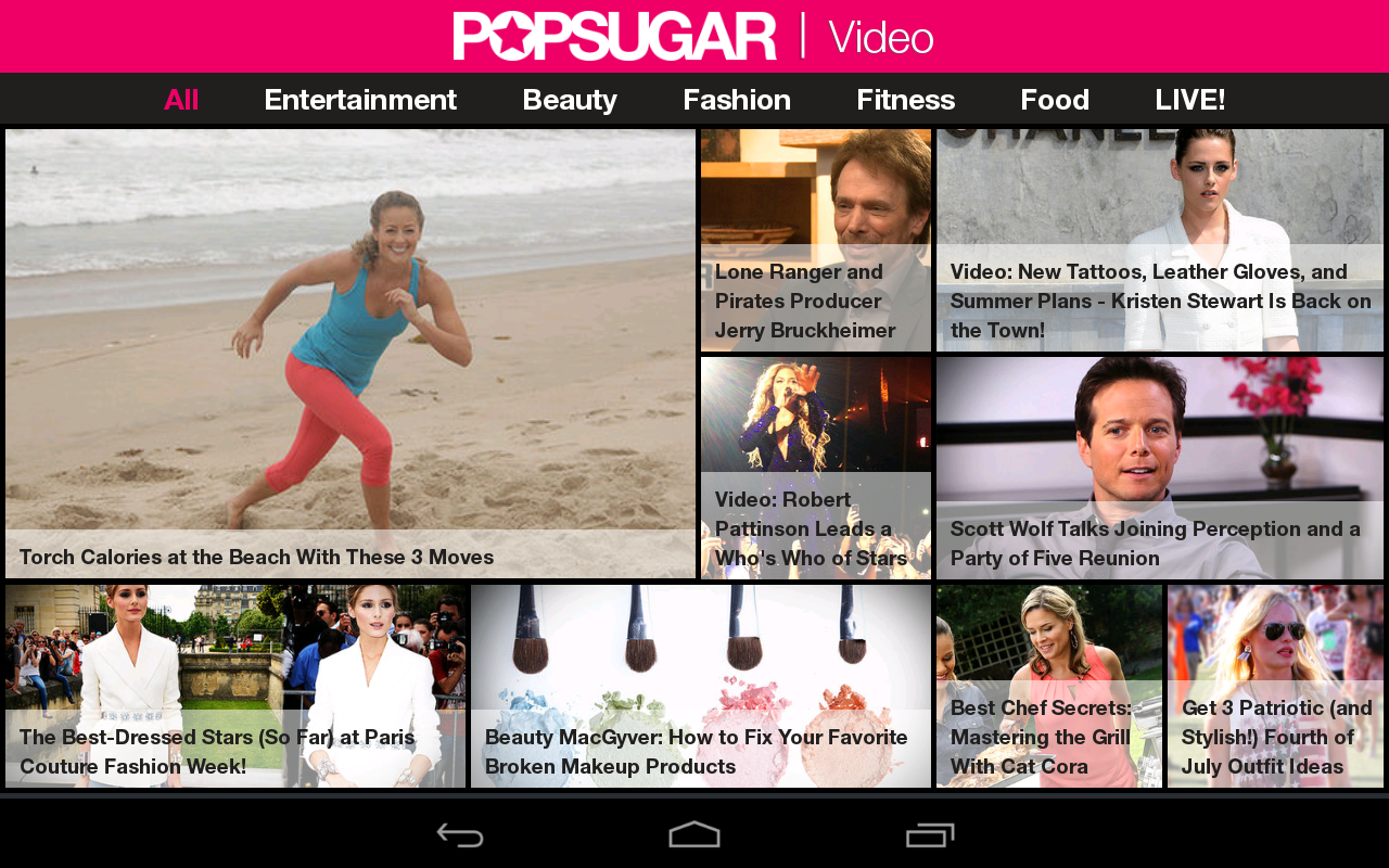 POPSUGAR Video - screenshot