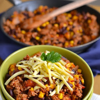 20-Minute Turkey Chili.