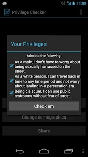 Privilege Checker Screenshot 3