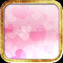 LOVEピンクハートの壁紙 icon