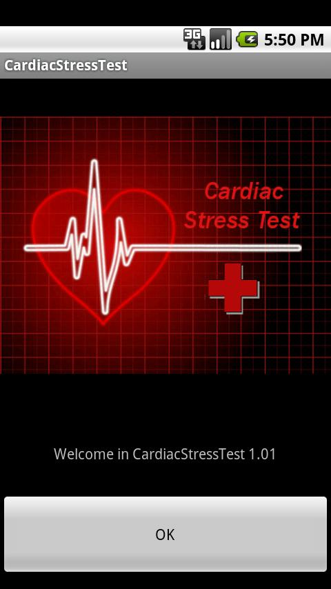Cardiac Stress Test- screenshot