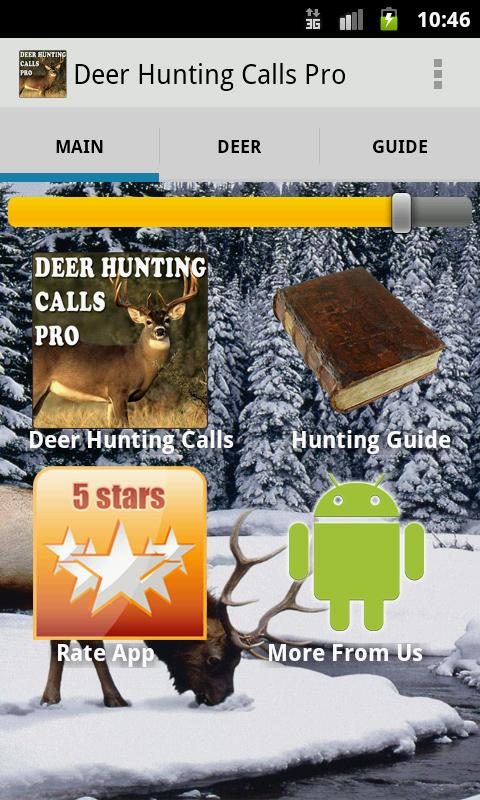 Deer Hunting Calls Pro - screenshot