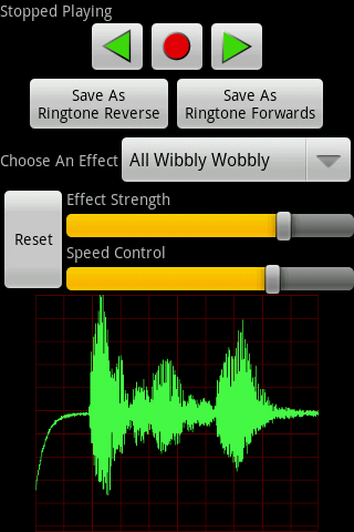 Voice Changer Pro (Vox Box) - screenshot