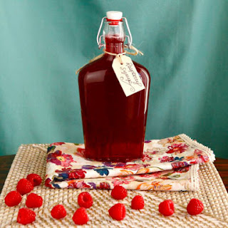 Homemade Raspberry Syrup