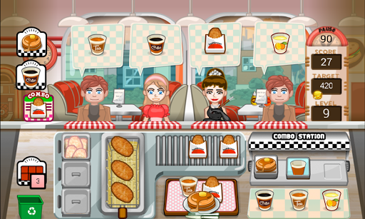 Игра Happy Burger Days для планшетов на Android