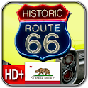 Route 66 CALIFORNIA Wallpaper logo