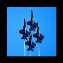 航空拼图 logo