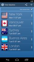 Screenshot of Time Machine - World Clock