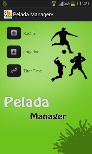 Pelada Manager+
