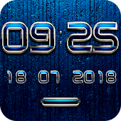 MENTALIST Digital Clock Widget