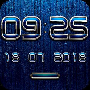 MENTALIST Digital Clock Widget 生活 LOGO-玩APPs