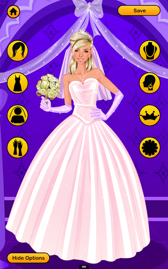 Wedding Dress Up Games - Free Bridal Look Makeover - Android Apps ...