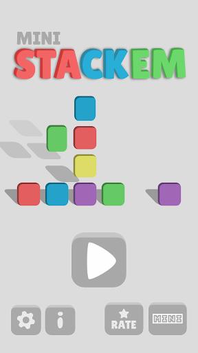 Mini Stackem: Action Match 3