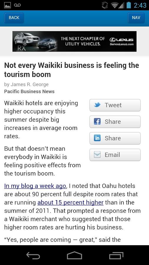 Pacific Business News- screenshot