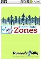 Screenshot of Heart Rate Zones