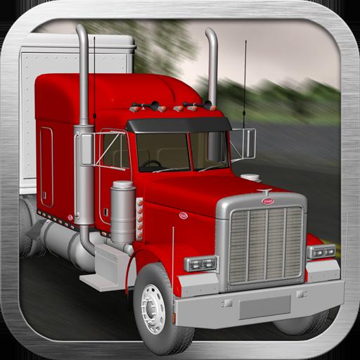 Big Red Truck: 3D Driving Sim
