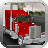 Big Red Truck: 3D Driving Sim