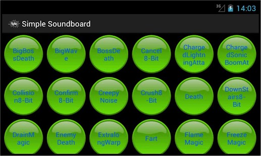 Simple Soundboard - screenshot thumbnail