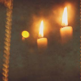 świeczki by Agnieszka Pogorzałek Gross - Abstract Fire & Fireworks ( świeczki )