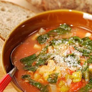 Autumn Minestrone Soup.