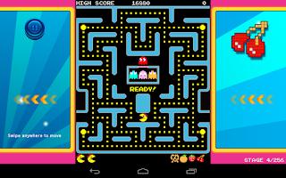 Screenshot of Ms. PAC-MAN by Namco