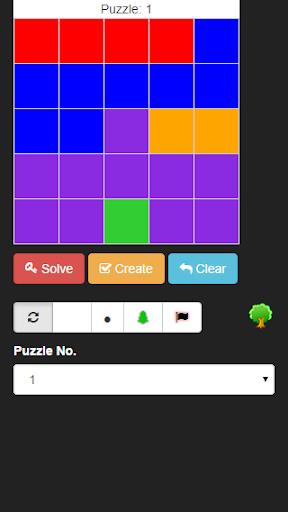 Parks Puzzle Solver