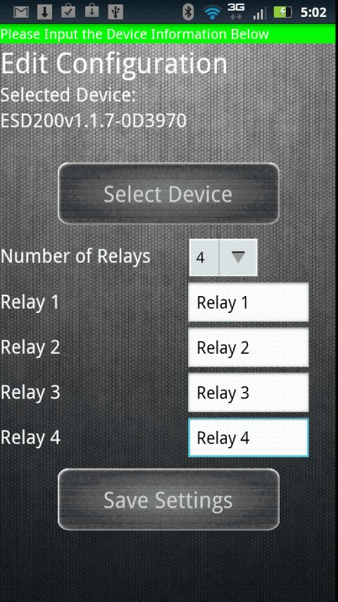 IORelay Bluetooth Relay - screenshot