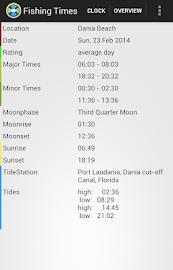 Fishing Times Free Screenshot 2