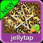 Gold Black Leopard Star Theme icon