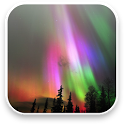 Aurora Free Video Wallpaper icon