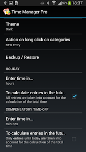 Time Manager Pro screenshot 6