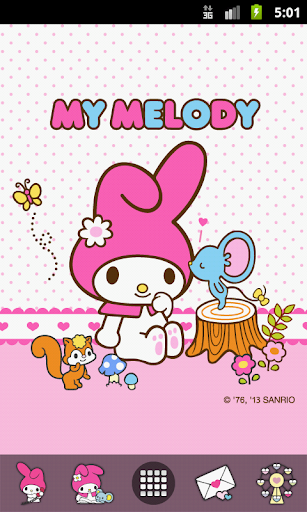 My Melody Kiss Me Theme