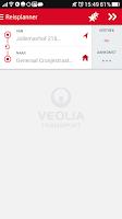 Screenshot of Veolia