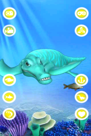 Talking Liopleurodon- screenshot