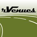 rVenues Pro Basketball Arenas logo