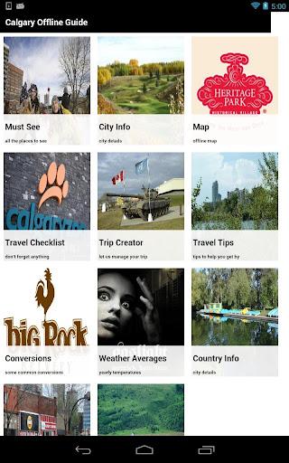 Calgary Offline Travel Guide