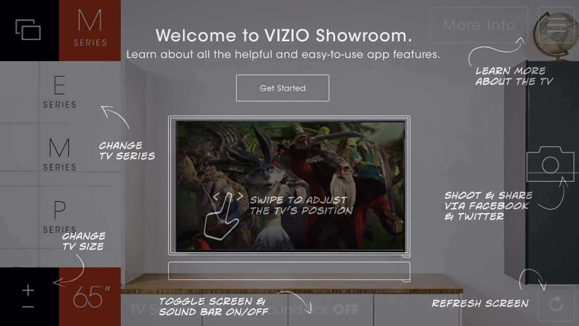 VIZIO Showroom- screenshot