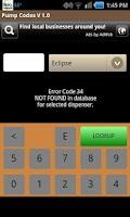 Screenshot of Pump Codes Pro V2.0
