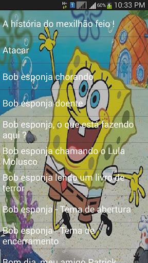 Bob Esponja Frases Engraçadas