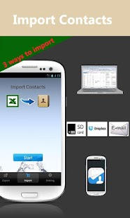 Excel<->Contacts Lite - screenshot thumbnail