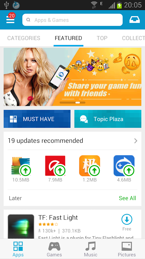 Mobogenie Market Free - screenshot