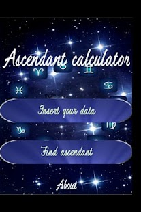 Ascendant Calculator FREE - screenshot thumbnail
