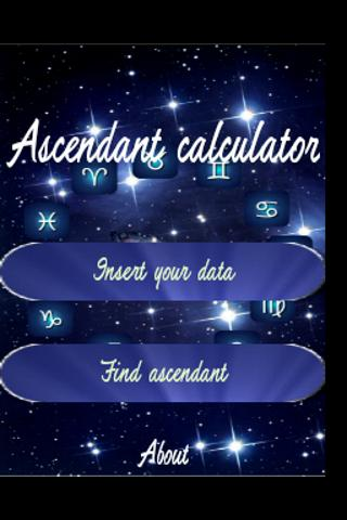 Ascendant Calculator FREE- screenshot