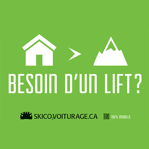 商業必備App Ski Covoiturage LOGO-綠色工廠好玩App