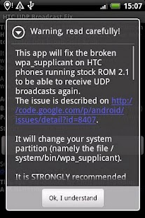玩免費生產應用APP|下載HTC UDP Broadcast Fix app不用錢|硬是要APP
