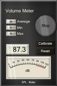 Professional dB (SPL) Meter screenshot 0